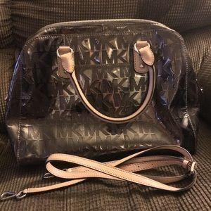 Michael kors metalic bag